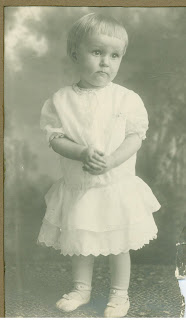 very young Lucille